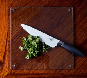 glass cutting board for crafts