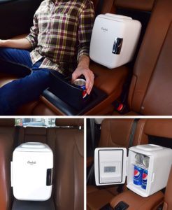 portable mini refrigerator for car