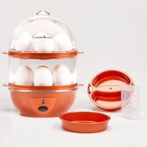 Two-layer egg boiler