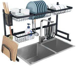 roll-up dish rack