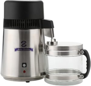 Domingo Petrucci Direct Brushed Stainless Steel Water Distiller