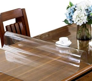 fitted clear plastic table covers