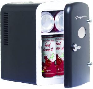 frigidaire portable retro 6-can mini fridge efmis129