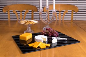 christmas glass cutting boards