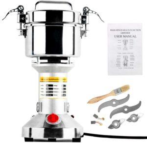 Stainless steel grain grinder machine