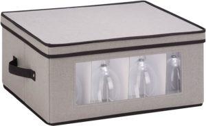 wine glass storage boxes cardboard wine glass holder