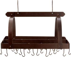 retractable hanging pot rack
