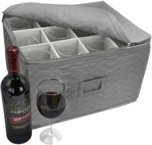 wine glass shipping containers