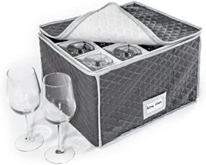 glassware storage boxes catering
