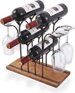 red wine bottle coaster