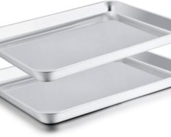 10 Stainless Steel Baking Sheets for Easy Food Cooking in 2021