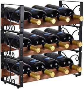 red wine bottle holder