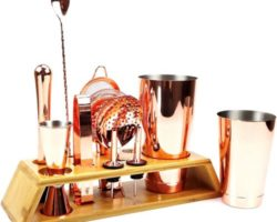 Top 10 Best Copper Cocktail Shaker Sets in 2021