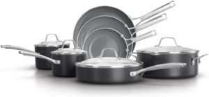 Calphalon Classic Oil-Infused Ceramic PTFE and PFOA Free Cookware