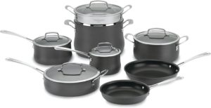 cuisinart cookware set 5 piece