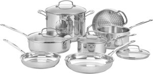 stainless steel bakeware set