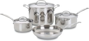 cuisinart cookware set 7 piece