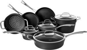 cuisinart cookware set nonstick