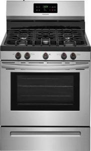 gas range double oven