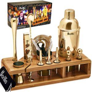 gold shaker bartending