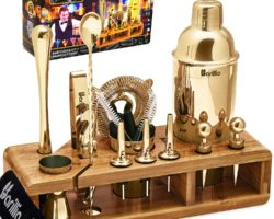 Top 10 Best Gold Cocktail Shaker Sets in 2021