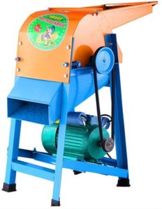 electric grain thresher