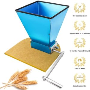 manual stone grain mill