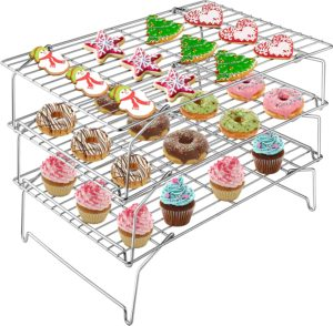 cookie cooling rack stackable