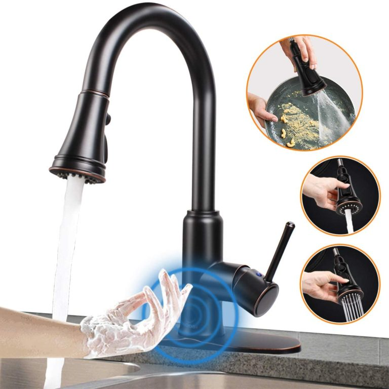 Touchless Kitchen Faucet