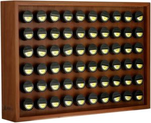 wooden spice rack stand