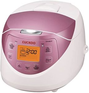 cuckoo rice cooker manual