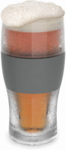 Double Wall Plastic Frozen Pint Glass