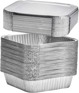 Foil Pans perfect for baking cakes, roasting, homemade breads