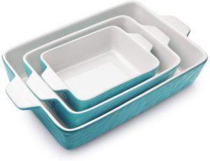 Ceramic non-stick bakingware