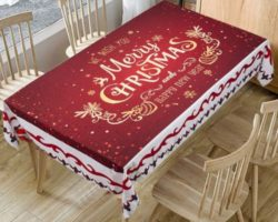 BEST CHRISTMAS TABLECLOTHS TO BUY IN 2021