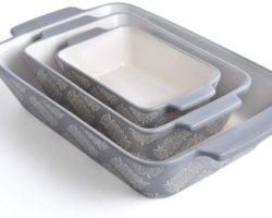 To 10 Recommended Ceramic Bakeware to Buy in 2021