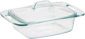 pyrex easy grab 3-quart oblong glass bakeware dish