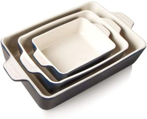 ceramic bakeware with lids
