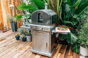 Stainless Steel Construction Pizza Oven