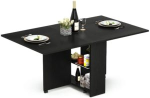 Extendable Table with Cabinets