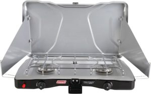 Triton and Propane 2-Burner Stove
