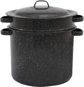 3-piece set stock pot with 7.5-quart Blancher