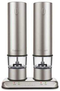 Brushed Stainless Steel SP-4 Salt & Pepper Grinder